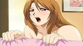 hentai anime son fucks big boobs mom after school