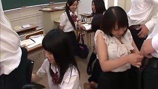 Nerdy Schoolgirl Plays With Large Toys In Her Hawt Panties