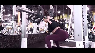 Narr workout in leggings ep 2