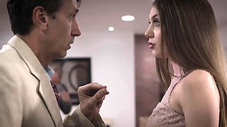 Elena Koshka double creampied by her dad and his boss