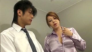 Incredible Japanese chick Yumi Kazama in Best Handjobs, Cumshots JAV movie