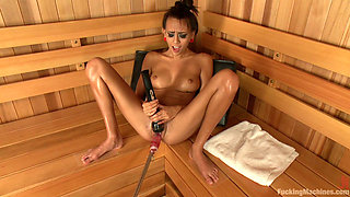 Janice Griffith Gives Her Pussy To The Machines