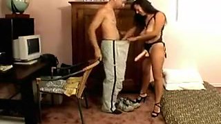 Horny homemade Fetish, Femdom porn scene