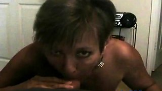Hot Amateur Mature Cougar POV Smoking BJ