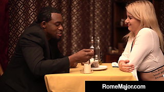 Curvy Blonde Layla Price Fucked In Restaurant By Rome Major!