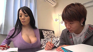 Busty asian teacher huge boobs
