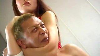 Japanese femdom mixed wrestling