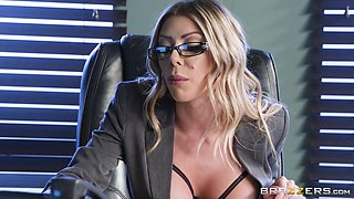 Karma RX is a stunning blonde craving to be penetrated hard