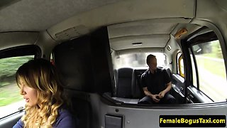 London milf cabbie fucked by client