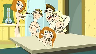 Kim Possible porn parody