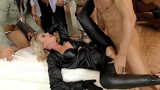 One long cock is enough to please Coco Del Mal and other babes