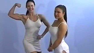 Topless wrestling Charlene rink VS Veronica mills