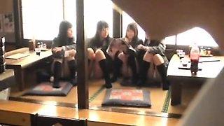 Horny amateur teen schoolgirl rammed doggystyle