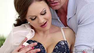 Tina Kay sucking cock and getting fucked