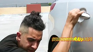 breaking in the car and kidnapping his beautiful girlfriend and show here who is the boss