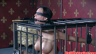 Caned restrained submissive punished harshly