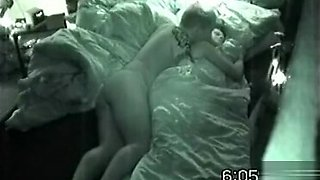 Homemade early morning sex video with horny young couple