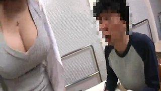 japanese teacher in stocking 17-1
