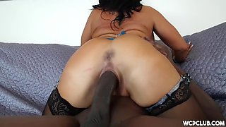 raving heart latina milf gets bbc so good