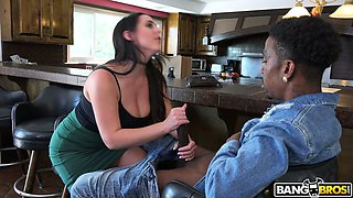 Angela White will steal your heart at first sight and she loves big cocks