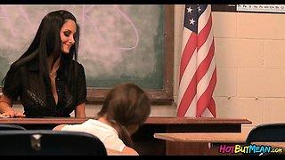Teacher vs Students lesbians