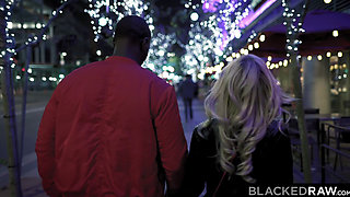 BLACKEDRAW Tiny blonde dominated by black stud