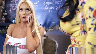 Brazzers - 1800 Phone Sex - Talking dirty - Nicolette Shea, Angela White