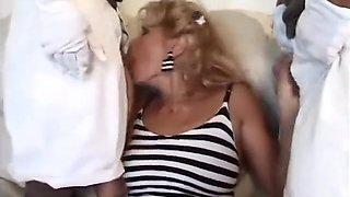 Old Woman Sex-2 Midget Man