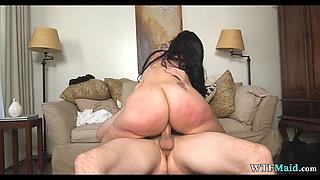 Huge Fat ass on Maid