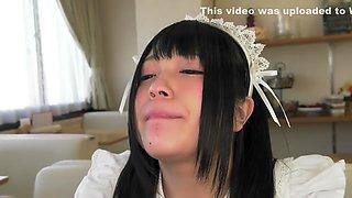 Exotic Japanese model in Incredible Blowjob, Teens JAV clip