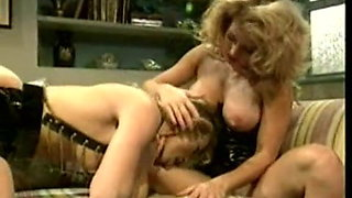 Patent Leather - MILF lesbians eating each other out