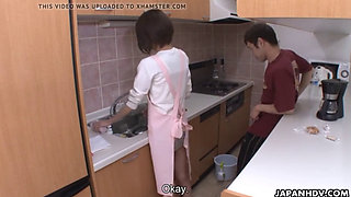 Maid getting hard fucked by house owner son.........