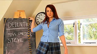 Detention with Naughty School Girl