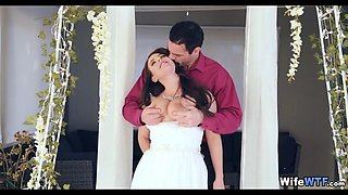 Wedding Day Whore in White