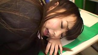 Amazing Japanese girl Ryo Asaka, Ai Naoshima, Aoi Buruma in Fabulous Amateur, Office JAV scene
