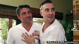 brazzers - dirty masseur - my two fuck boys scene starring j