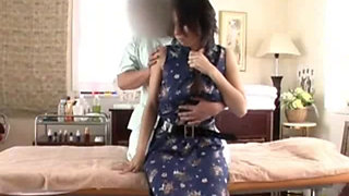 hot asian maid fucked hard