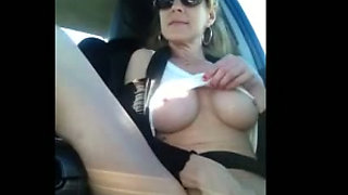 Shannon Dubois Squirts in the Car!
